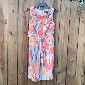 Adrianna Papell sleeveless dress size 8.